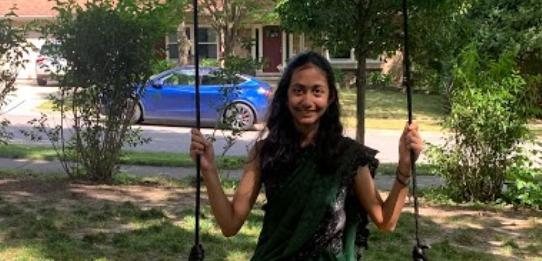 Kashvi Rai is a seventh grader at Clague Middle School.