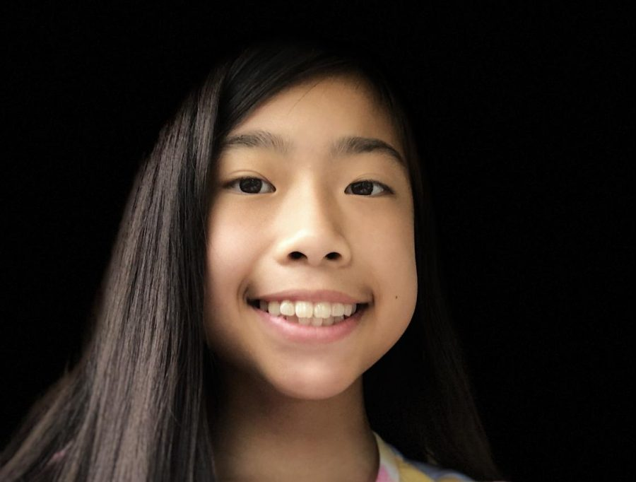 Judy Bai is twelve years old and is a seventh grader at Clague Middle School.