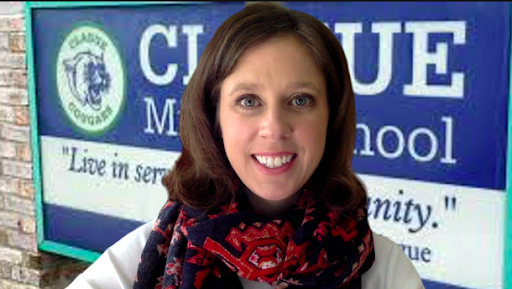 Alison Muehlman is currently the sixth grade counselor at Clague Middle School.