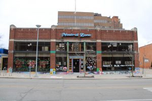 The Neutral Zone in Ann Arbor has a recording studio where students can learn about Hip Hop.