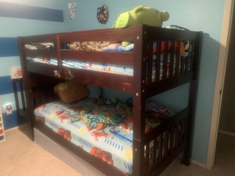 Of all the beds, bunk beds are the most efficient in saving space.