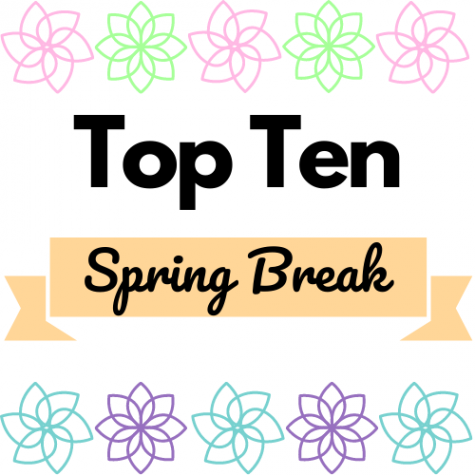 Here are the best ten things to do during spring break.