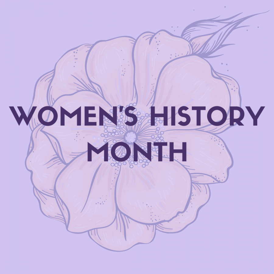 March is Women's History Month, so here are five women that convey messages and themselves through art.